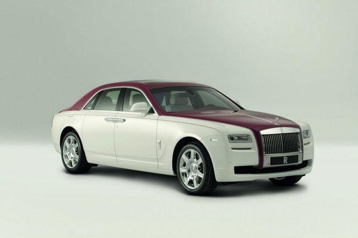 2012 Rolls Royce Ghost Qatar Edition
