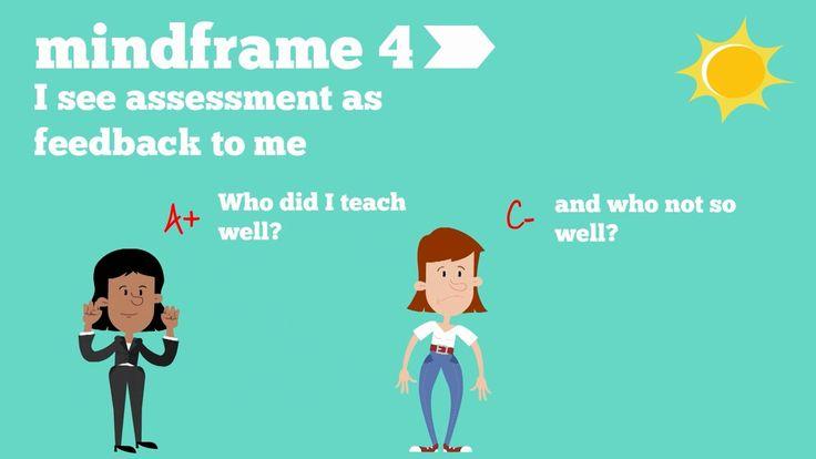 John Hattie's 9 Mindframes for Visible Learning Educators