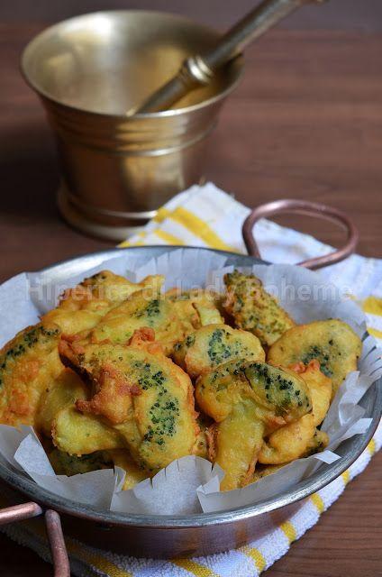 Hiperica di Lady Boheme: Broccoli fritti con pastella di farina di ceci