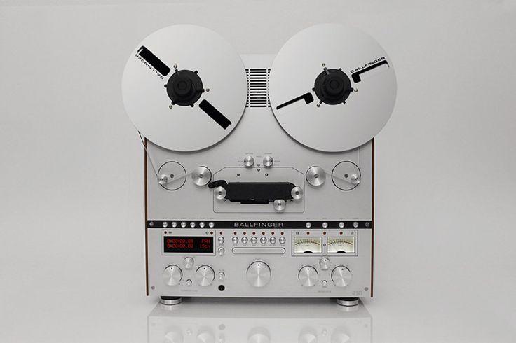 Ballfinger to Release New Reel-To-Reel Tape Player
