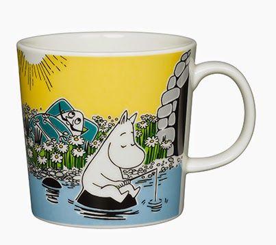 pientä mutta suurta: Muumimuki kesä 2015: Hetki rannalla / Moomin summer mug 2015: Moment on the Shore