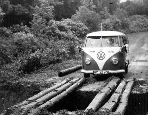 Volkswagen Kombi Modelo clip
