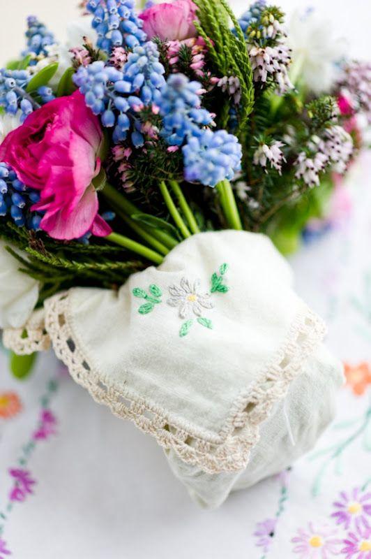 Donkey and the Carrot: Handkerchief wedding ideas to DIY! Γάμοι που... άφησαν εποχή