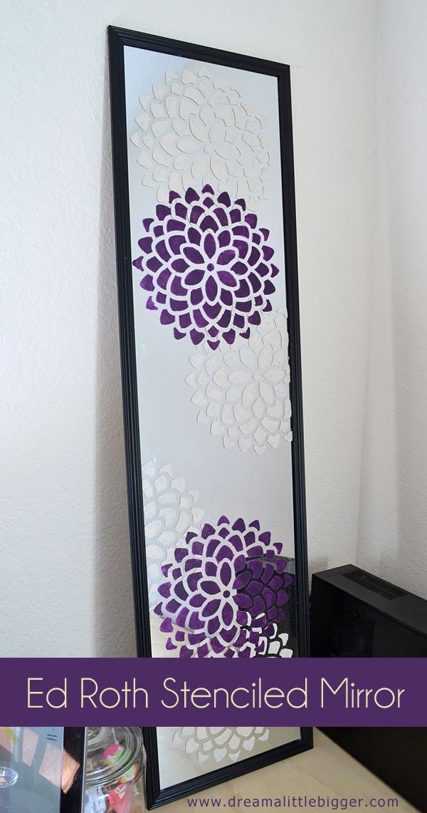 Best 25 decorated mirrors ideas on pinterest cd diy cd for Bedroom wall decor crafts