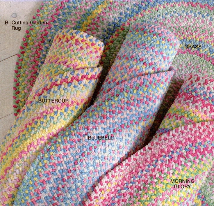 homemade rag rugs instructions