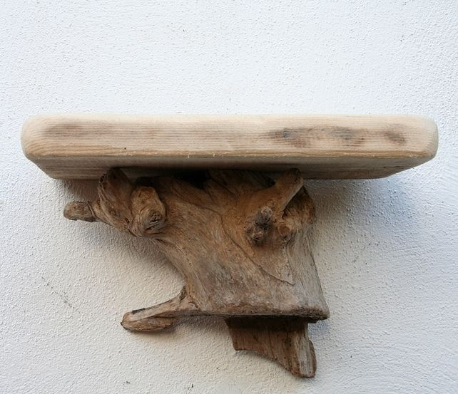 25 best ideas about driftwood shelf on pinterest for Driftwood wall