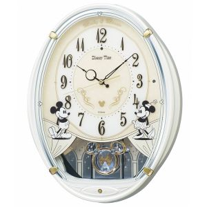 FW579W壁掛時計SEIKOセイコーディズニータイムミッキー&フレンズ壁掛け時計電波時計電波掛け時計電波掛時計壁掛時計かけ時計壁掛け電波時計電波壁掛け