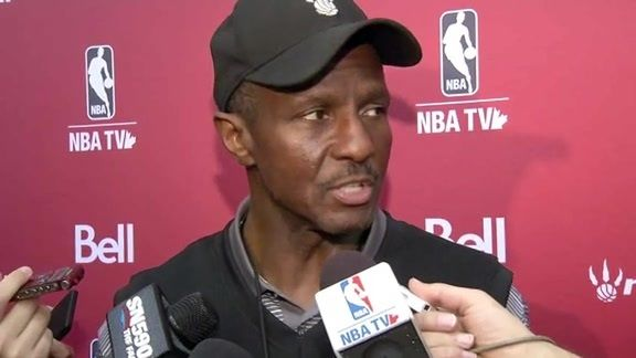 Dwane Casey after #Raptors Training Camp wraps in #Toronto and shifts to #Halifax.