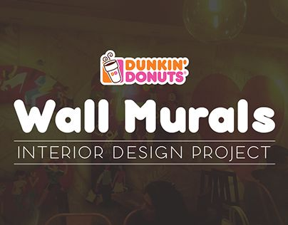 "Check out new work on my @Behance portfolio: ""Wall Murals for Dunkin Donuts, India"" http://be.net/gallery/26091399/Wall-Murals-for-Dunkin-Donuts-India"