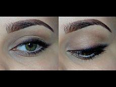Быстрый ежедневный макияж с мягкими стрелками - YouTube