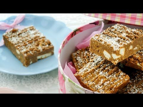 Chocolate Slice, 4 Ingredients, Desserts & Sweets, Cooking with Kim