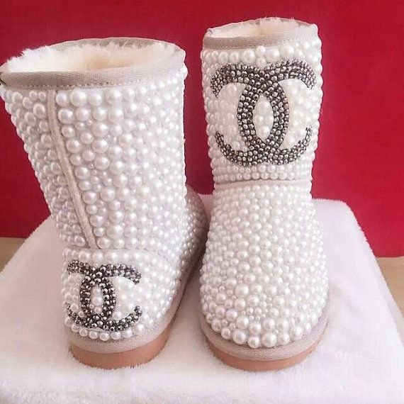 Unique 9 best Custom Classic Short Ugg Boots made with Swarovski Elements  BA82 be94980da