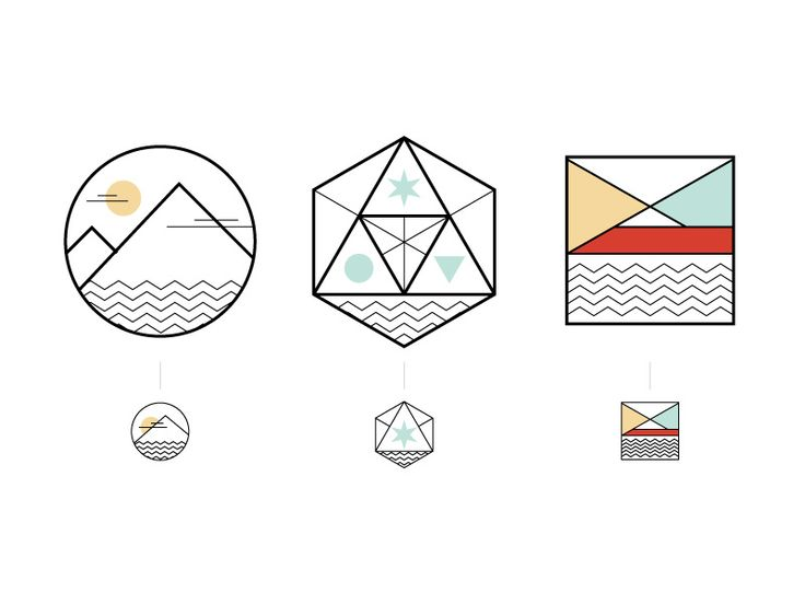 Icons with its mobile versions. by NINGEN
