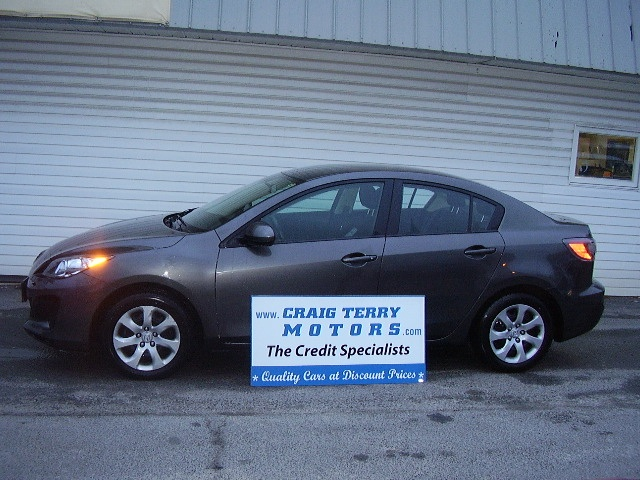 Location:  Craig Terry Motors   Year:  2012   Make:  Mazda   Model:  MAZDA3   VIN:    Trim:    Colour:  GREY   Transmission:  Automatic   Mileage:   44000   Price: $ 15995.00   Stock #:  S311   Features:   AC, Tilt Wheel, Powered Windows, Cruise Control, Powered Lock, CD, Powered Mirrors, Keyless Entry   Description:   PLUS HST