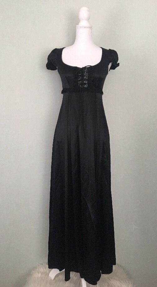 LIP SERVICE (Hot Topic) long dress #71-96-HT