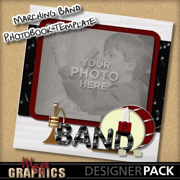 Marching band scrapbook layouts google search