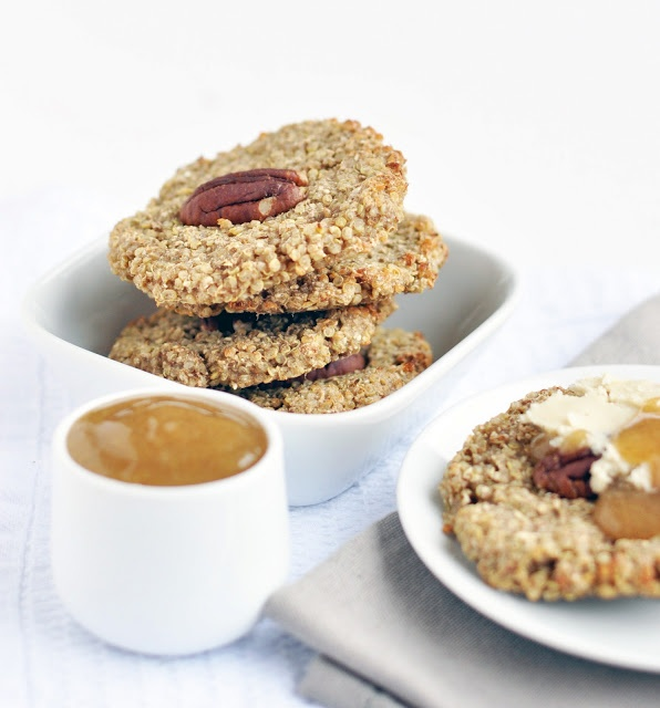 Quinoa-power breakfast cakes | baking ambitions | Pinterest