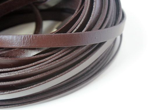 10mm Real Flat Leather Cord, 3 feet Leather Strip, Brown Genuine Flat Leather String, Jewerly Leather String Cord by BasicPrettySupplies on Etsy https://www.etsy.com/listing/159699949/10mm-real-flat-leather-cord-3-feet