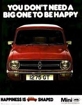 Retro mini adverts - MINI Cooper Forum