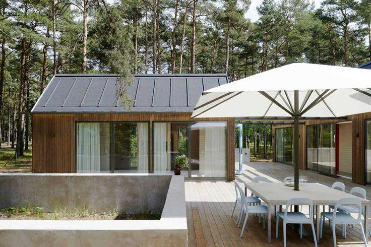 Jordens Arkitekter - Spänstigt hus bland tallarna