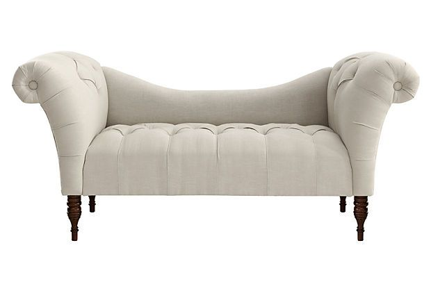 cameron 74 tufted chaise talc