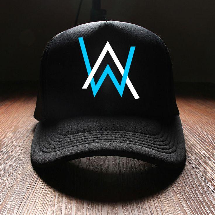 Hip Hop Dj Alan Walker Cap Streetwear Mann Punk Style Hip Hop Snapback Hats Baseball Caps Men Fitted Cheap Summer Hats For Women #Affiliate