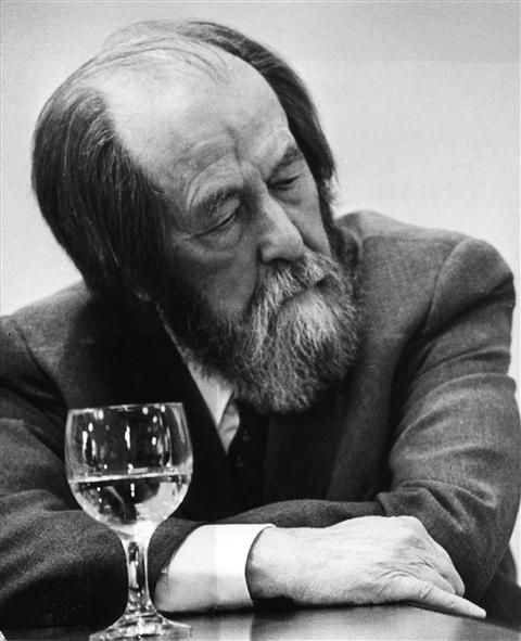 Aleksandr Isayevich Solzhenitsyn; (11 December 1918 – 3 August 2008) was a Russian writer, dissident and activist. He helped to raise global awareness of the gulag and the Soviet Union's forced labor camp system. While his writings were often suppressed, he wrote several books most notably The Gulag Archipelago and One Day in the Life of Ivan Denisovich,, Solzhenitsyn was awarded the Nobel Prize in Literature in 1970.(wiki)