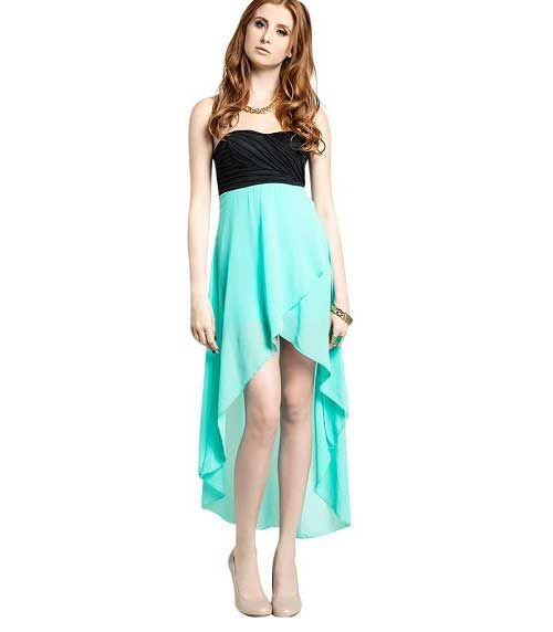 high low spring dresses - photo #9