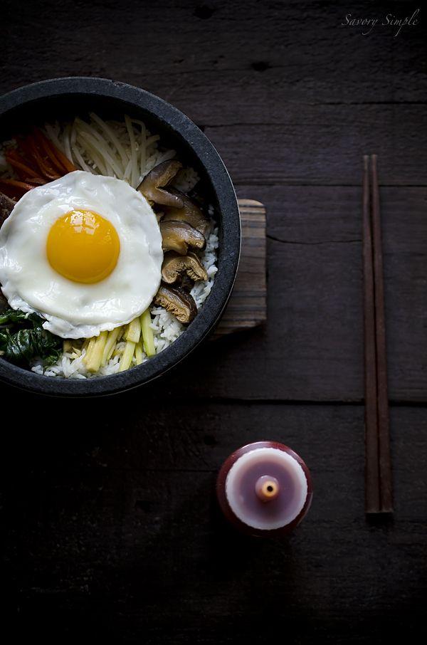A delicious, easy recipe for making Korean dolsot bibimbap at home!