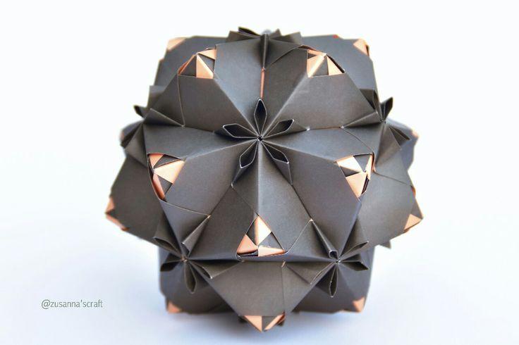 #kusudama #origami #origami_art #MariaSinayskaya #zusannascraft #Zusannasphotography #myfolding #beautiful #happyfolding #hqndmade #papercraf #iloveorigami