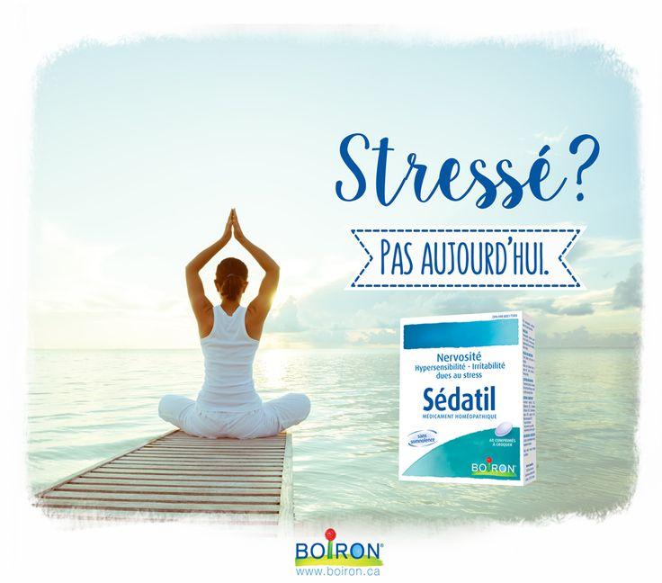 Sédatil soulage la nervosité, l'hypersensibilité et l'irritabilité dues au stress.