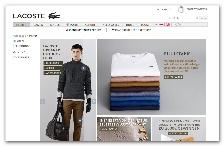 Einkaufen in München: Lacoste Onlineshop
