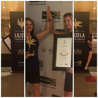 1st in the Lilizela Awards - Best in South Africa - small lodges