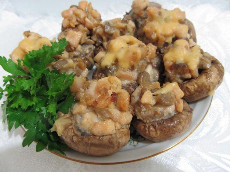 Кабачки с фаршем в духовке фото рецепт