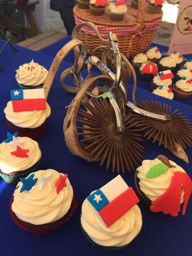 Cupcakes fiestas patrias