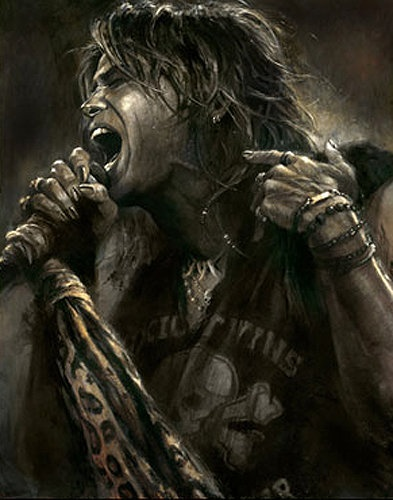 Steven Tyler by Brian Fox