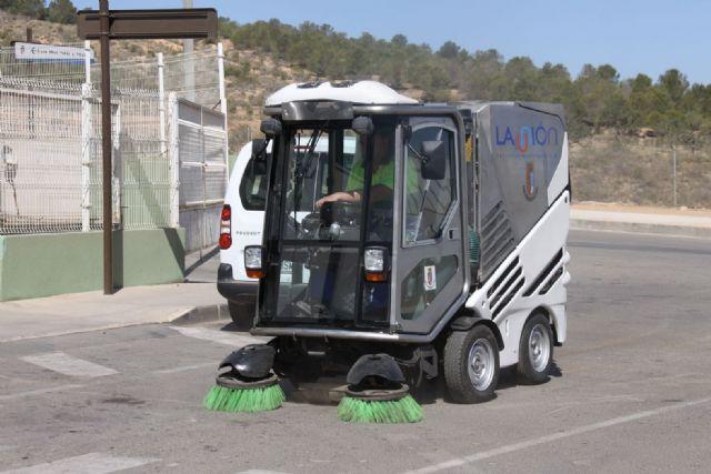 Barredora Tennant 636 en La Unión (Murcia) - #spazzatrice