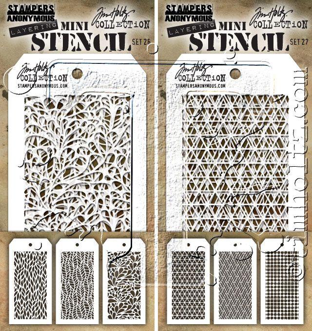 541 best crafts stencils embossing mats images on pinterest for Tim holtz craft mat