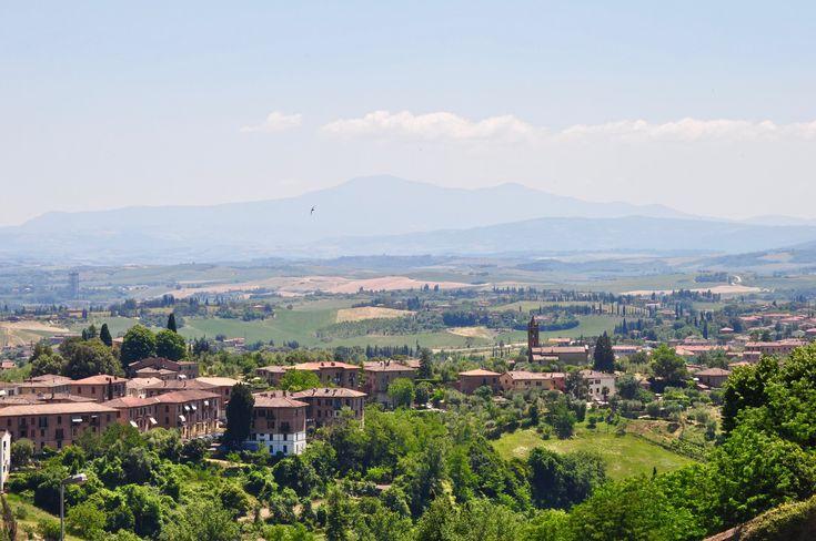 Italian Florence: Tuscany Countryside From Siena, Italy