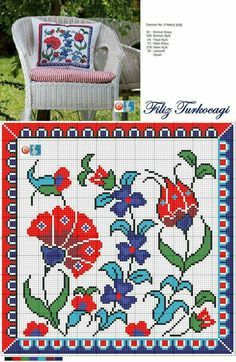 click on this site for lots of clear cross stitch patterns like this