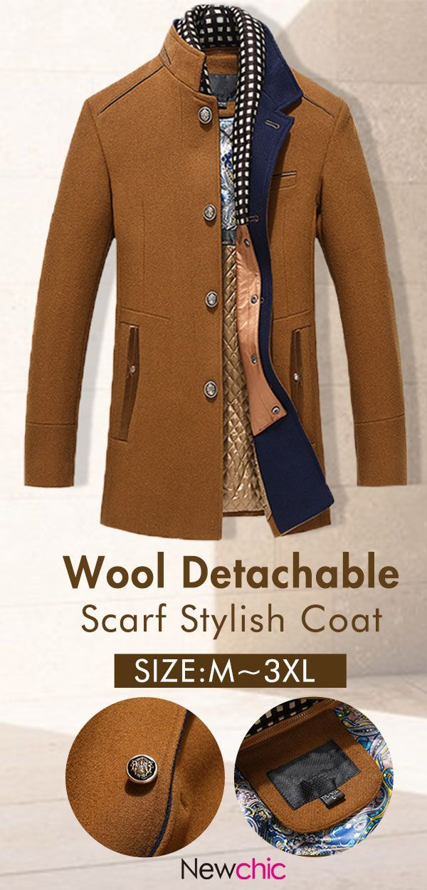 Casual Stylish Coat Jacket Coat Winter Mensfashion Newchic
