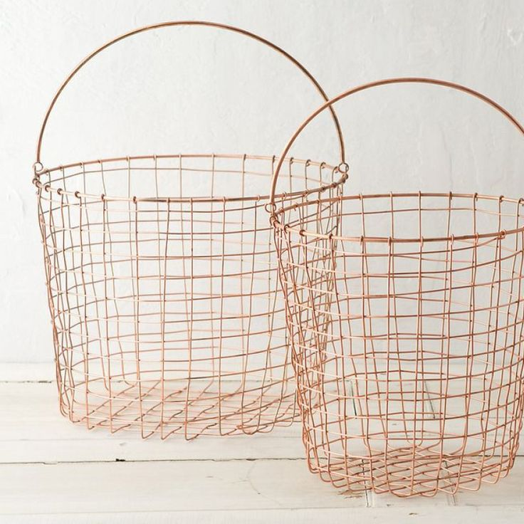 Copper Baskets by Theatre