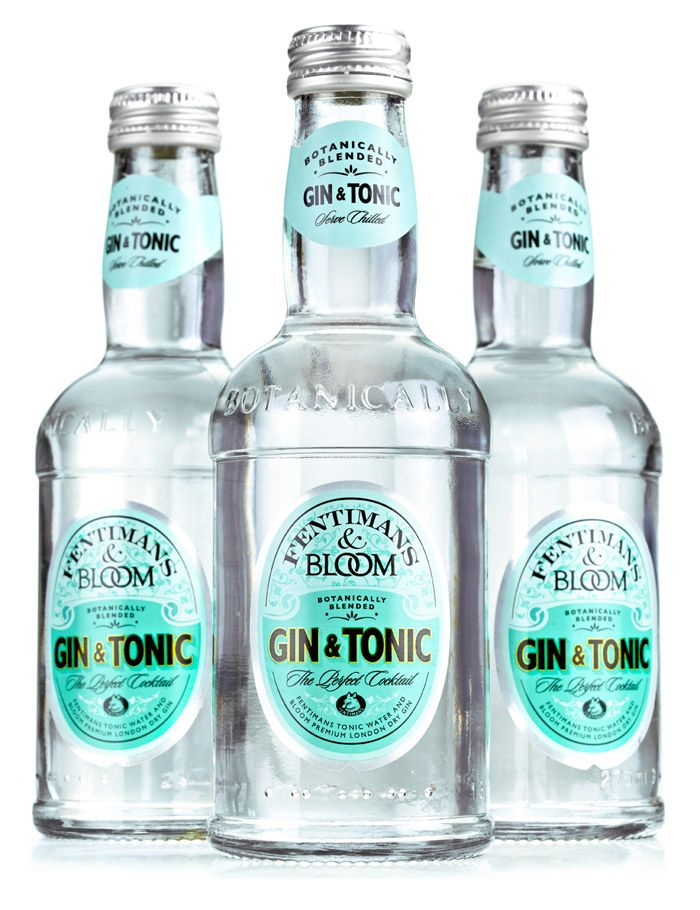 Fentimans Tonic And Bloom Gin... yum...