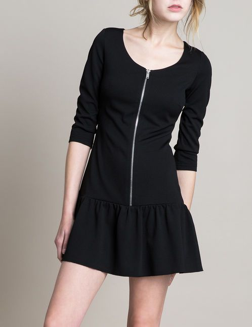 Robe taille basse noire