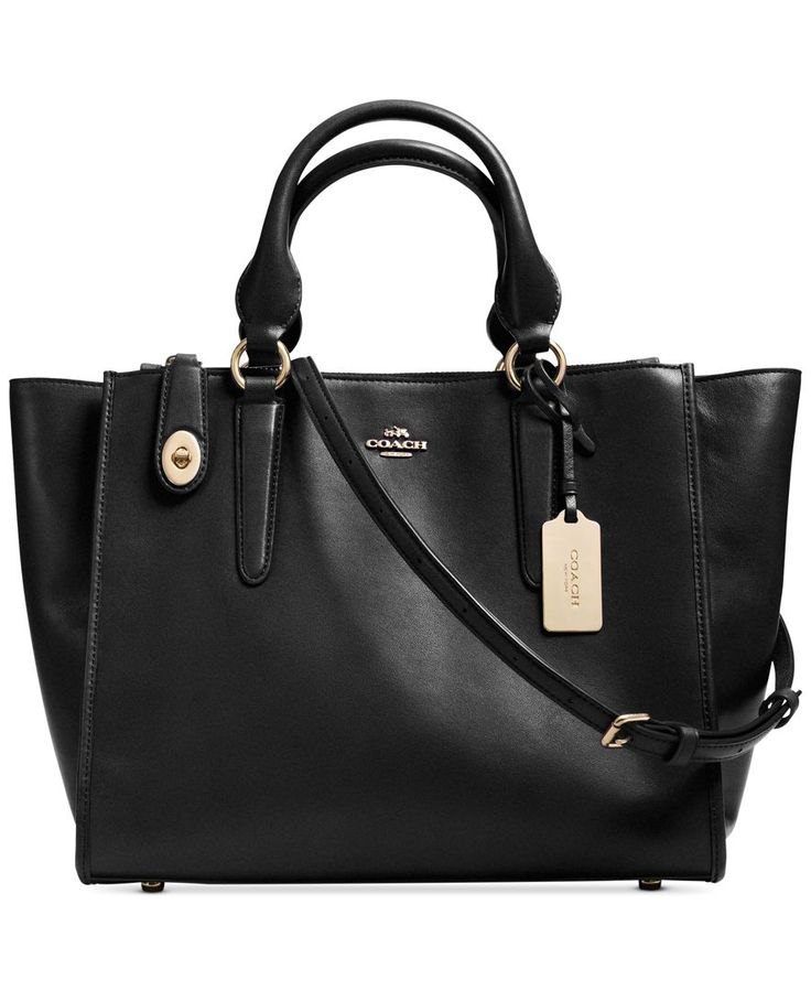 Coach Crosby Carryall In Leather