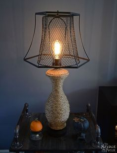 The Old Lamp Revamp Such a great idea!