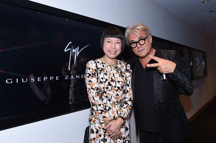 Angelica Cheung @ Giuseppe 20th Anniversary Party, Hong Kong, October 2014