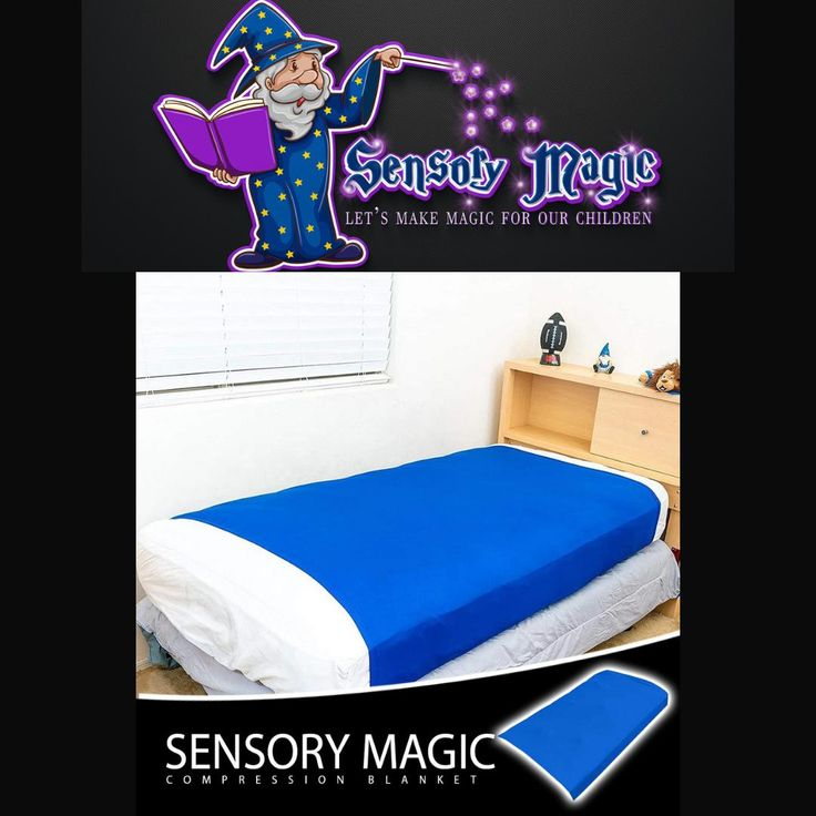 Sensory Magic Compression Blanket [Video] in 2021 | Infant sensory activities, Cool gifts for kids, Parenting preteens