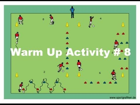 Soccer Dribbling Game For Youth Coaching - YouTube