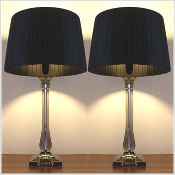 Exotic lighting royal waset table lamp in black modern bedside